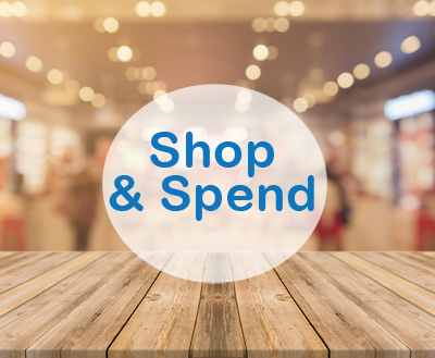 shop and spend